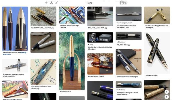Выбор ручки