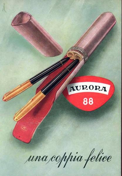 Перьевая ручка Aurora 88 (Италия)