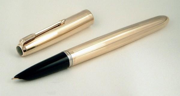 Перьевая ручка Parker 51 Rolled Gold
