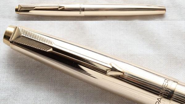 Перьевая ручка Parker 17 Rolled Gold