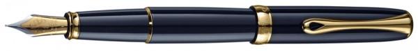 перьевая ручка Diplomat Excellence black gold (Германия)