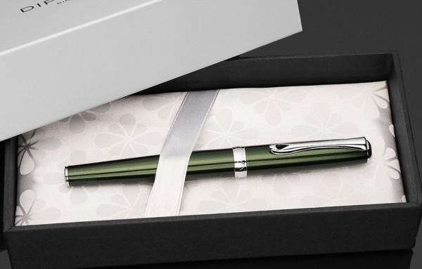перьевая ручка Diplomat Excellence Evergreen chrome (Германия)