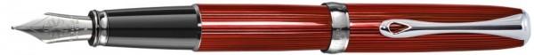перьевая ручка Diplomat Excellence Skyline Red (Германия)