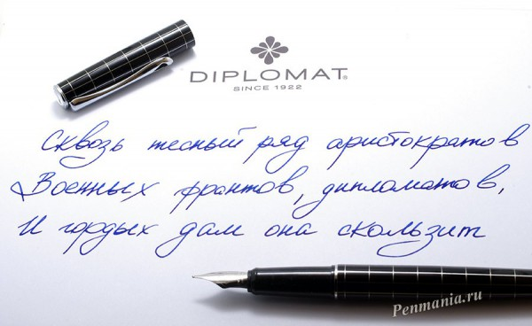 Перьевая ручка Diplomat Optimist / fountain pen