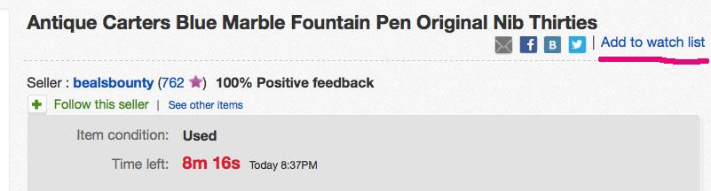 35d411799479 Купить перьевую ручку на ebay 2 - penmania.ru