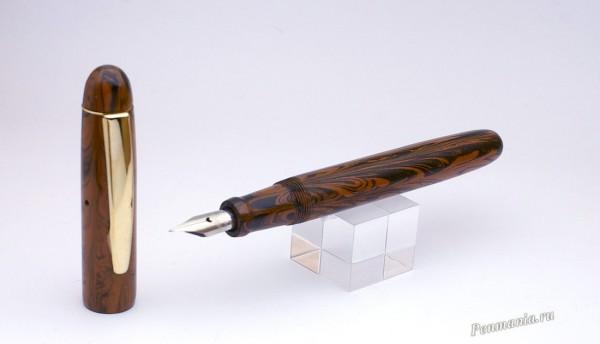 Перьевая ручка Mumbai ebonite eyedropper (Индия)
