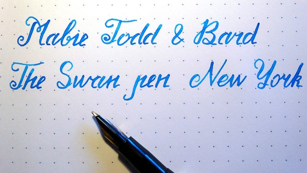Перьевая ручка Mabie Todd & Bard / fountain pen