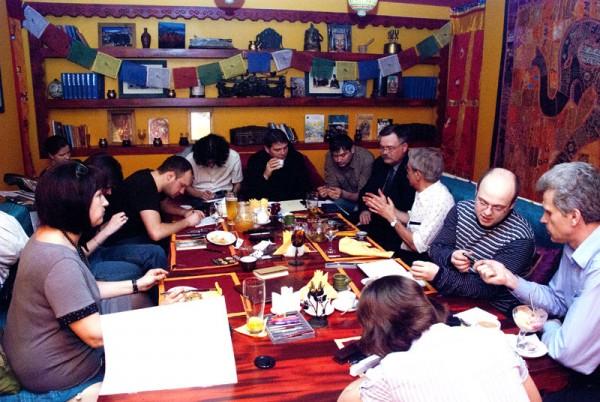 Встреча клуба любителей письма пером 26апреля 2012г