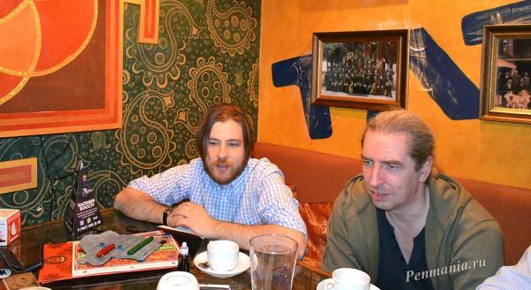 Встреча клуба приверженцев письма перьевой ручкой в Москве, 15 апреля 2015