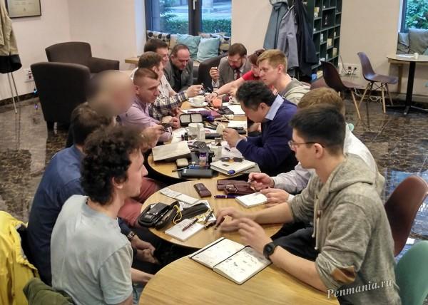 Встреча ElitePenMania клуба, Москва, 14.06.2017