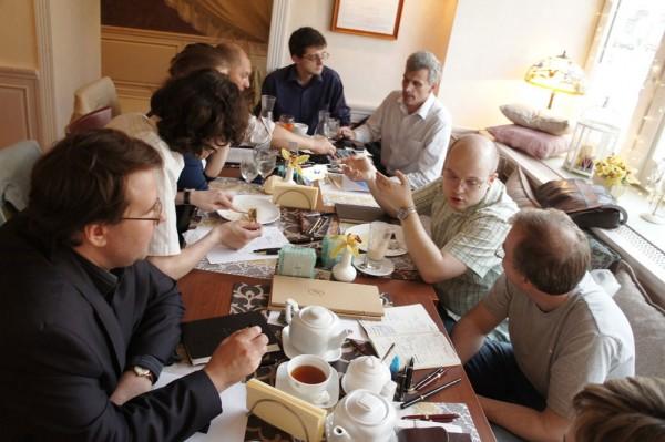 Встреча Клуба любителей письма пером в Москве 30 мая 2012 годв