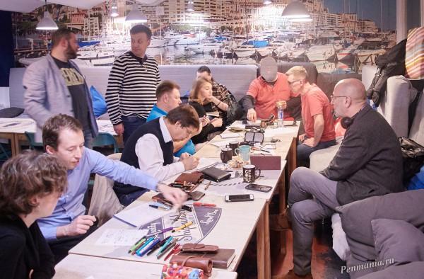 Встреча ElitePenMania клуба. Москва, октябрь 2018