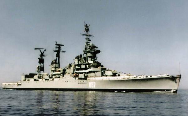 Крейсер «Михаил Кутузов» проекта 68-бис