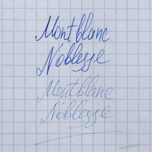 перьевая ручка Montblanc Noblesse