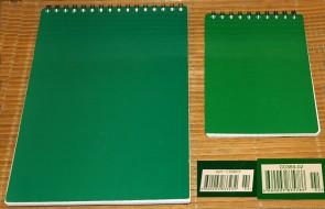 неизвестный блокнот, подходящий для письма пером