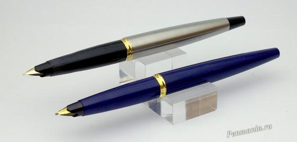 Перьевые ручки Parker 45 Flighter оригинального выпуска и современный Parker 45