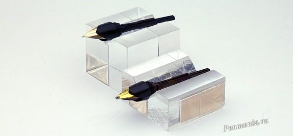 Перья ручек Parker 45 Flighter оригинального выпуска и современного Parker 45