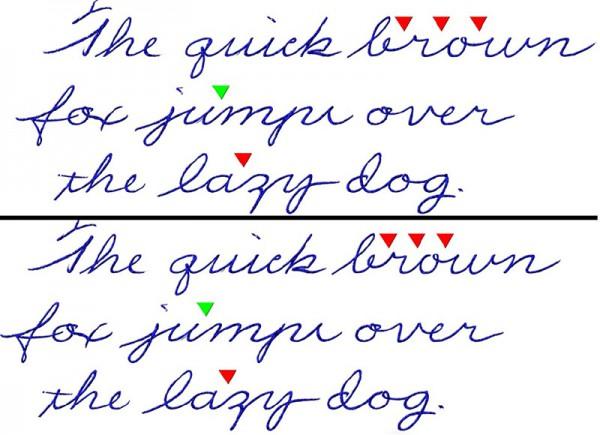 На пути к красивому почерку