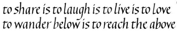На пути к красивому почерку. перья stub в повседневном письме помогут лучше следить за интервалами между частями букв и самими буквами