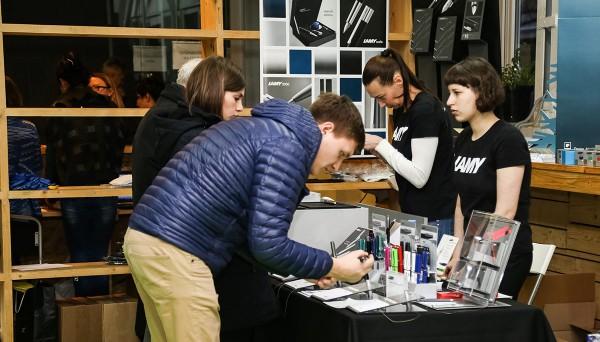 На выставке Moscow Penshow - 2017