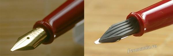 перьевая ручка Pilot 78G с пером B (broad)