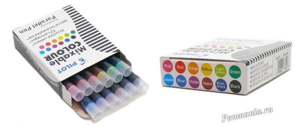 </p> <p>Картриджи Pilot с чернилами Mixable Colour для перьевая ручка Pilot </p> <p>parallel