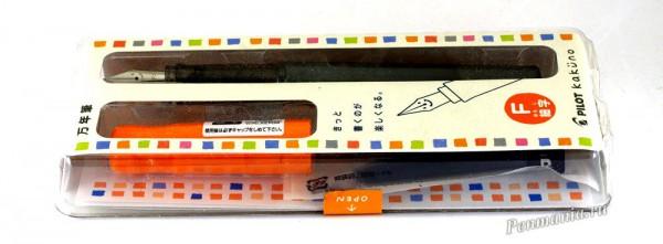 Перьевая ручка Pilot Kakuno (Япония)