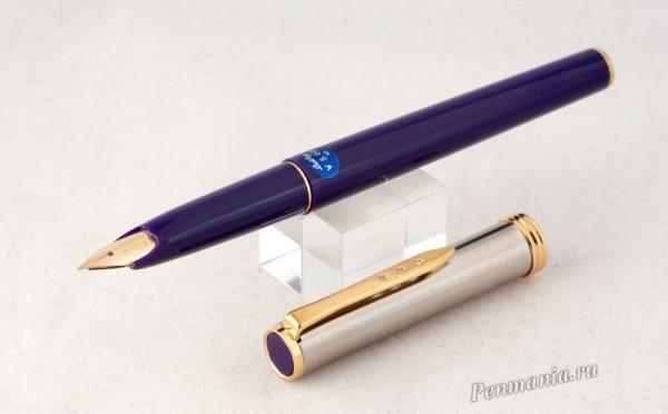 перьевая ручка Platinum Belage blue