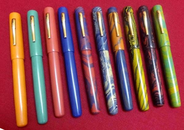 Перьевые ручки Ranga Model 3c - premium эбонит