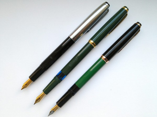 Перьевые ручки Elite (Reform) и Reform 1745 / fountain pens