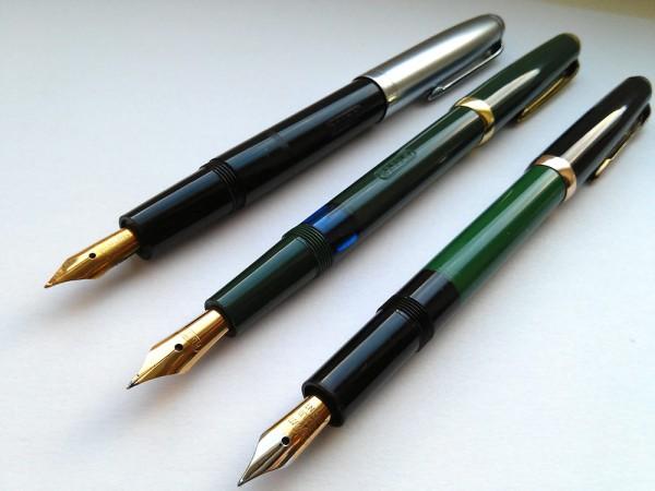 Перьевые ручки Elite (Reform) и Reform 1745 / fountain pens