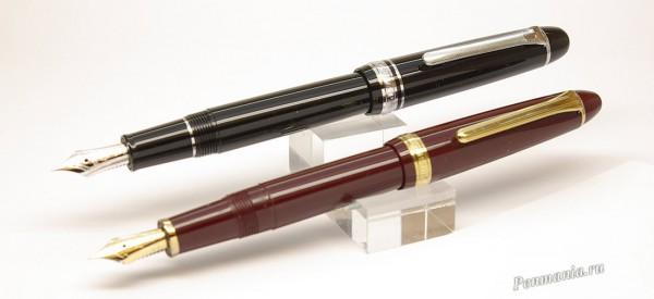 Перьевые ручки Sailor Promenade  и Sailor 1911 Standard (Япония)