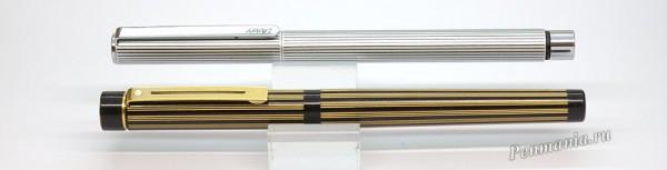 Перьеввые ручки Lamy St и Sheaffer Targa