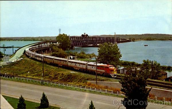 Мост через Миссисипи, Форт Мэдисон, Айова