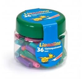 картриджи интернэшнл цветные под маркой Librolino