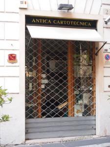 Antica Cartotechnica, Roma