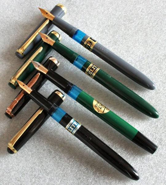 Перьевые ручки Eton, Reform, Elite (Германия) / fountain pen