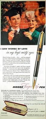 Перьевая ручка Moore Fingertip