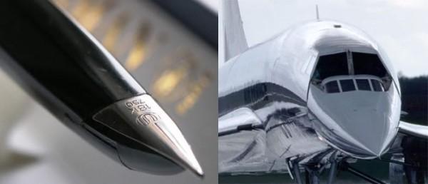 перьевая ручка Waterman Concord и сверхзвуковой лайнер Concorde