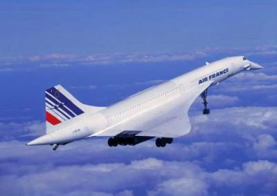 сверхзвуковой лайнер Concorde