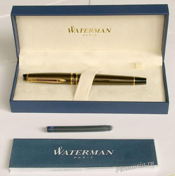 переьевая ручка Waterman Expert Smart Brown